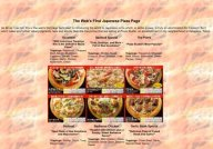 Japanese Pizza Page