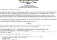 Constitution of Japan (1947)