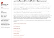 Japanese for the Western Brain