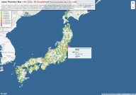 Japan Radiation Map
