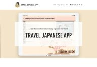 Travel Japanese App