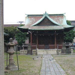 Shrine near Kawasaki
