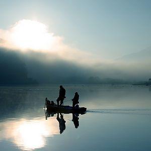 Lake Shōji (精進湖)