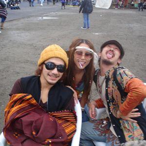 3 funky people at NAGISHA MUSIC FESTIVAL in TOKYO