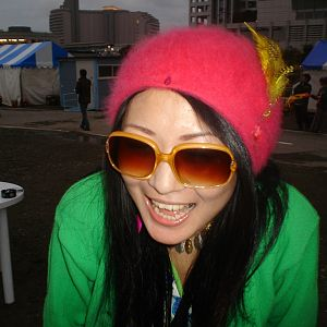 SUNGLASS FASHION at NAGISHA MUSIC FESTIVAL IN TOKYO