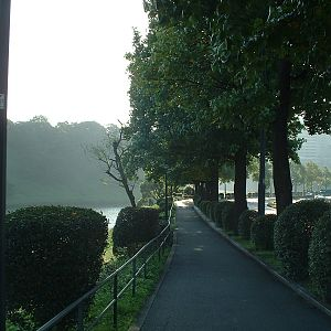 Tokyo - Sakurada-bori Moat & Uchibori-dori
