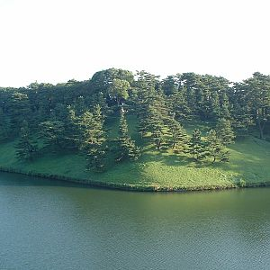 Tokyo - Sakurada-bori Moat of the Imperial Palace