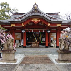 A shrine in Mikage