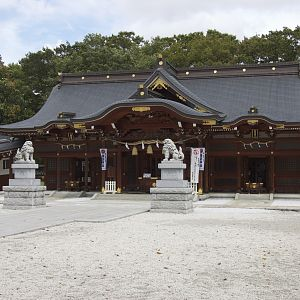 Suwa Shrine in Tachikawa