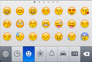 iPhone emoji