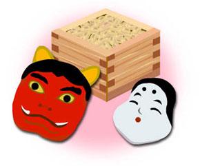 Setsubun symbols