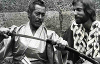 Toshirō Mifune and Richard Chamberlain in 'Shōgun'
