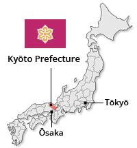 Map of Kyoto Prefecture