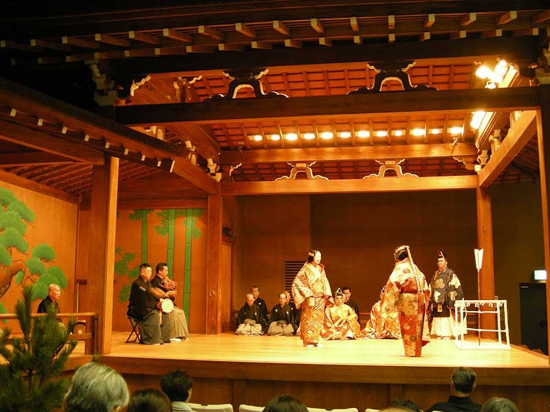Noh theater stage